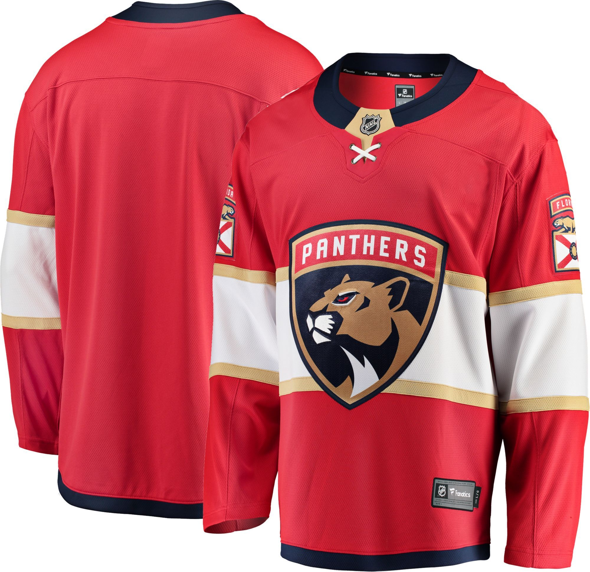 33d82e6f NHL Men's Florida Breakaway Home Replica Jersey in 2019 | Products ...