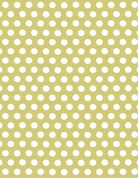 Wrapping paper with white dots over a chartreuse (a Paper Source exclusive color!) background. Printed on 100% recycled with 30% post-consumer waste Eco-White paper that is archival and acid-free. A b