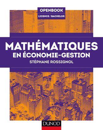 Mathematiques En Economie Gestion Economie Gestion Comptabilite Gestion