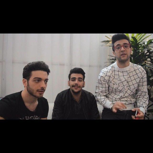 @tvsorrisi: Ci siamo quasi! L'ULTIMO video-diario de @ilvolo prima della finale è QUI: http://t.co/QMN1Tchfkm (In bocca al lupo!) http://t.co/TjWUqhm3Lk