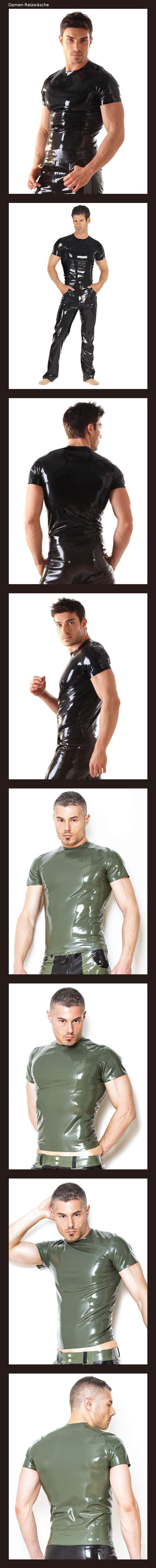 1643e8a19dd710 Latex/Gummi- T-Shirt | Damen-Reizwäsche