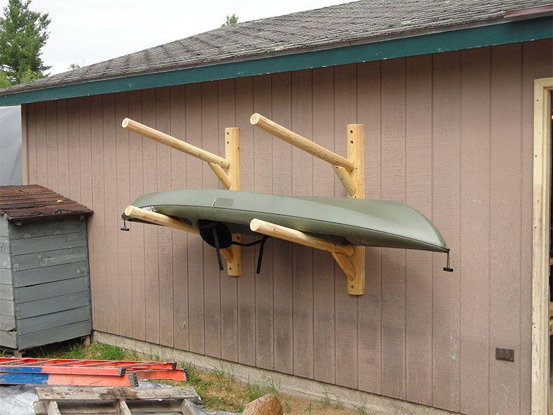 2 Place Kayak / Canoe Rack U2013 Wall Mount