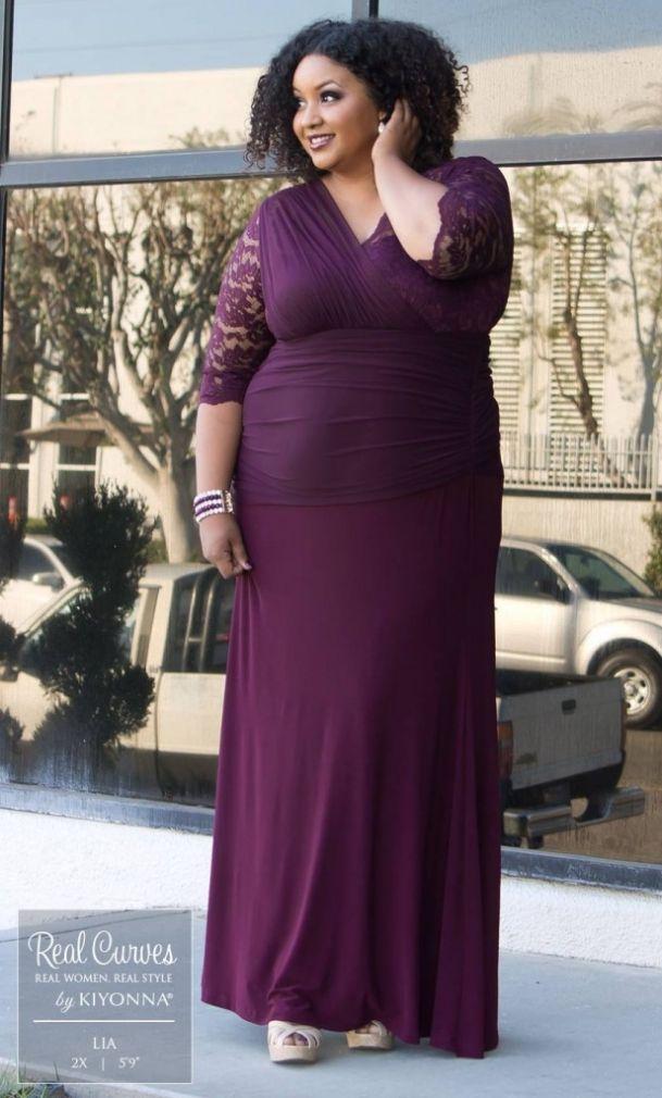 aaf2f0b8579 Fashion find soiree evening gown kiyonna sonsie savvy pinterest jpg  609x1010 Kiyonna soiree