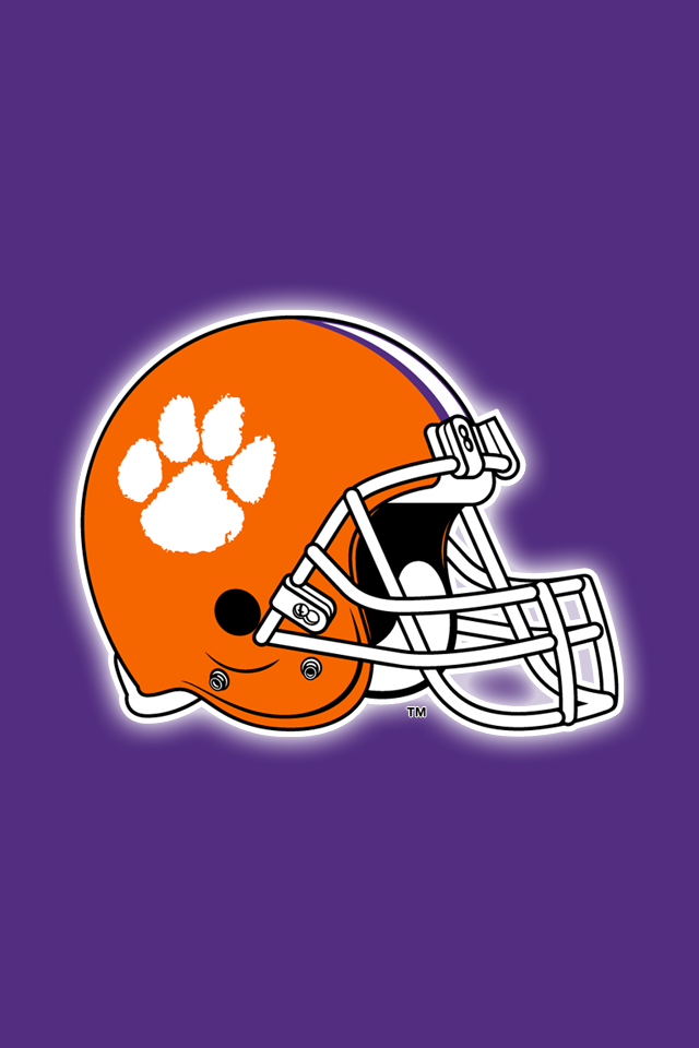 Set Of 24 Clemson Tigers Iphone Wallpapers Clemson Clemson Tigers Clemson Tigers Football