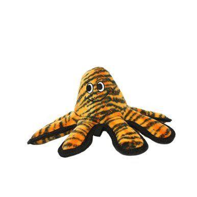 Vip Tuffys Ultimate Mega Creature Octopus Tiger Print Dog Fun Toy