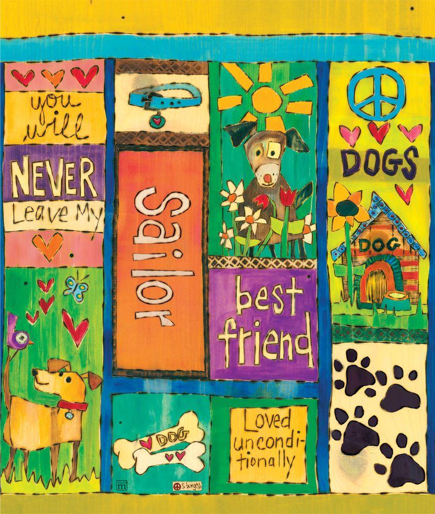 20 Custom Dog Lover Art Pole Lovers Art Pole Art Dog Art