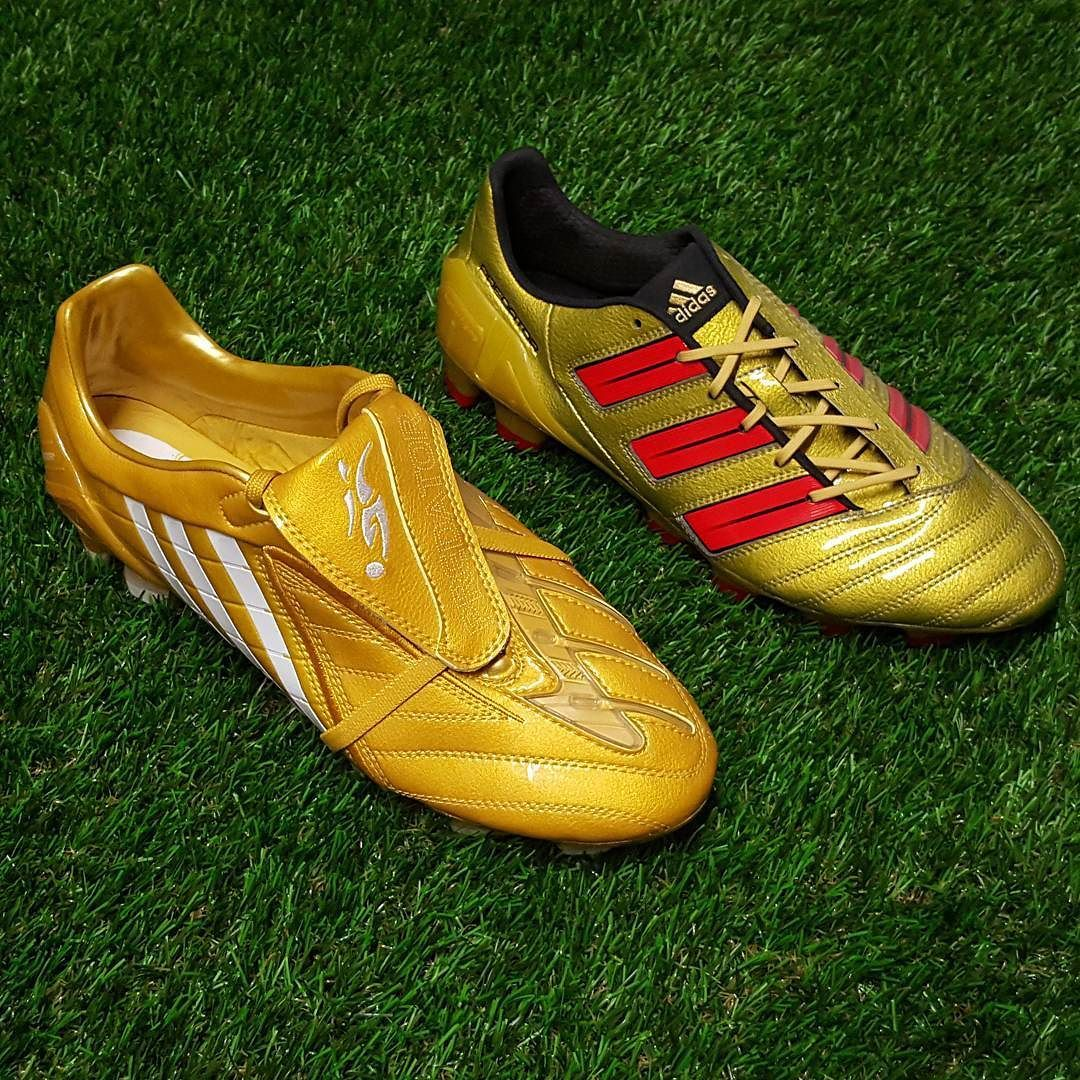 0a55ca27ac56 adidas predator powerswerve adidas Predator adiPower Both of these boots  are from the beckham signature range. Both in stunning gold colourway.  which one ...