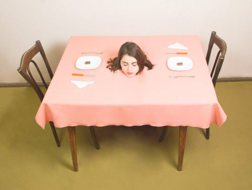 Submission Friday: The supper series  Model:...   SFMOMA