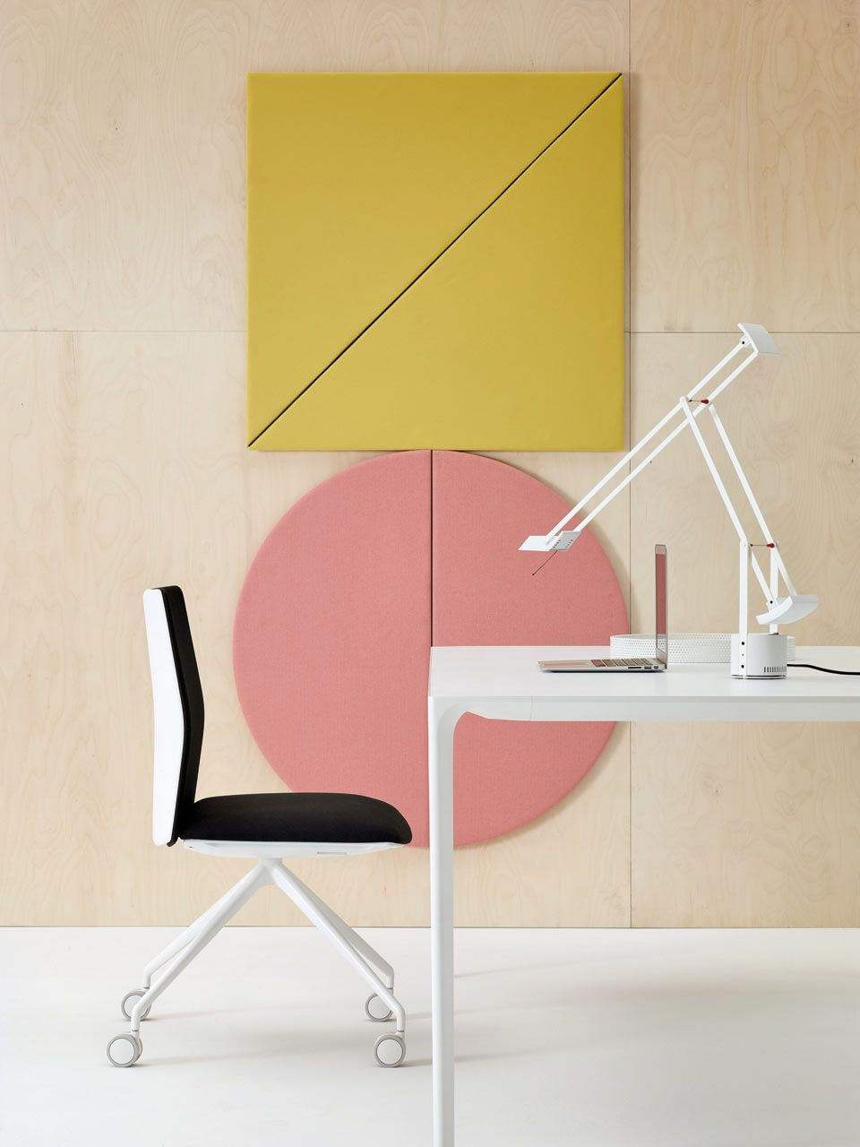 Geometric Acoustic Wall Panels by Arper | Acoustic panels, Modular ...