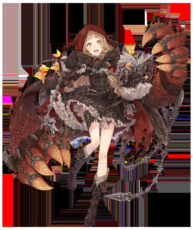 赤ずきん/ソーサラー SINoALICE Database Art 1 in 2019 Fantasy