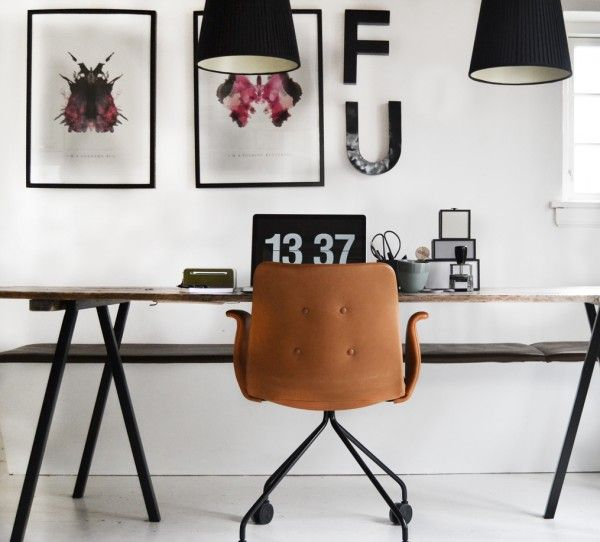 Danish Home Design Ideas: Office-kontor-hjemmekontor-indretning-homeoffice-homedecor