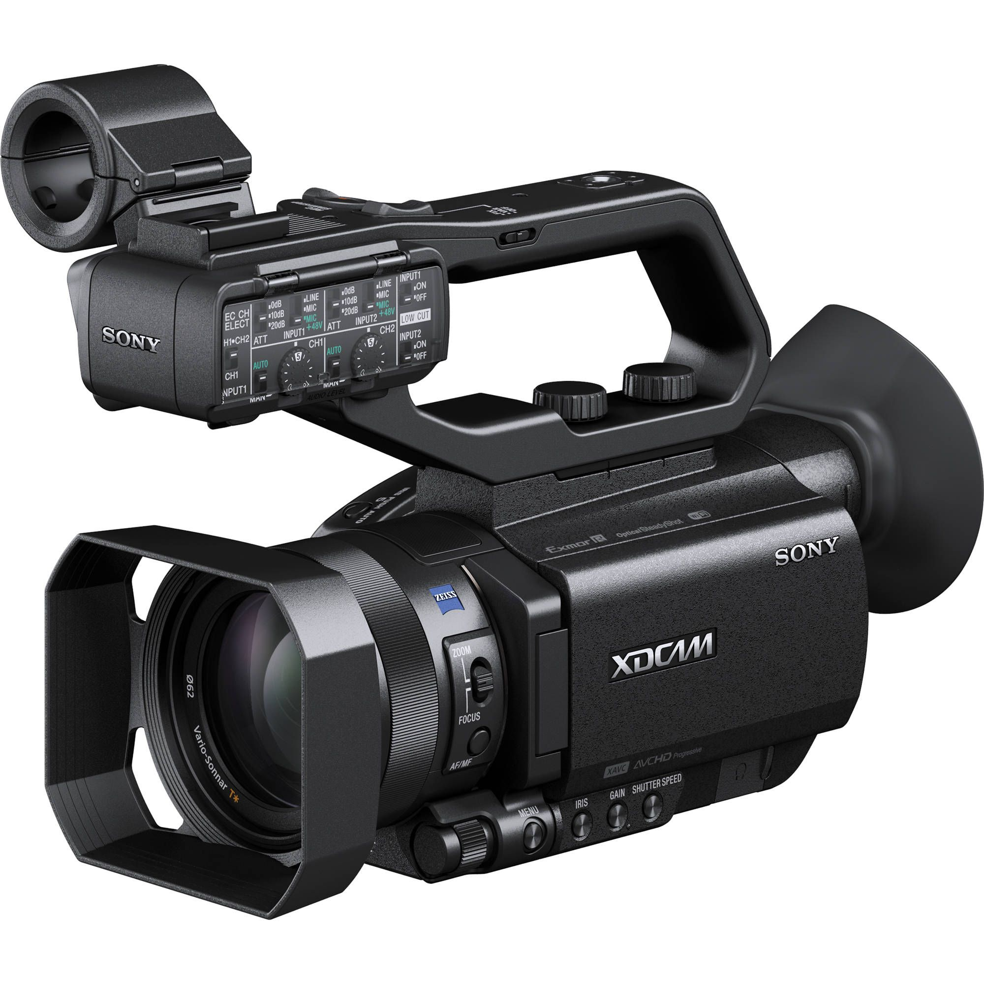 Sony PXW-X70 Professional XDCAM Compact Camcorder   Photo and Video ...