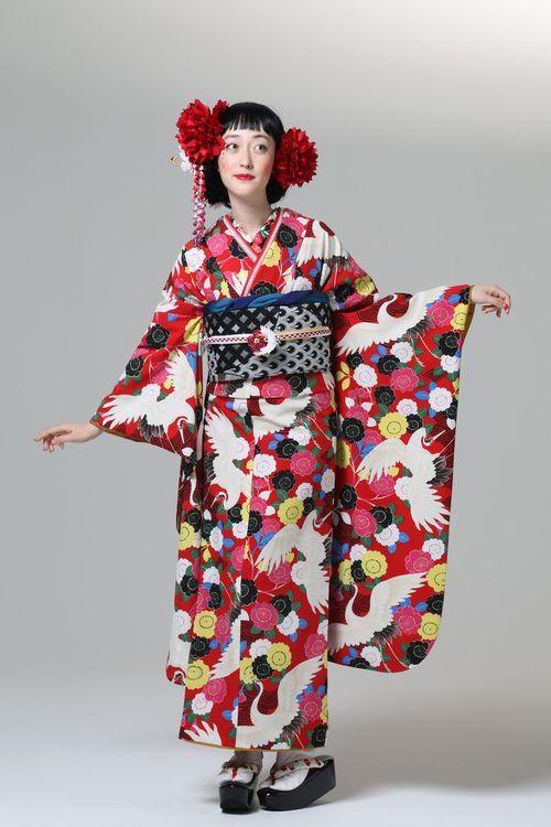 """The beauties of nature"" Furifu ふりふ 2013-14 Autumn & Winter Collection Yae ..."