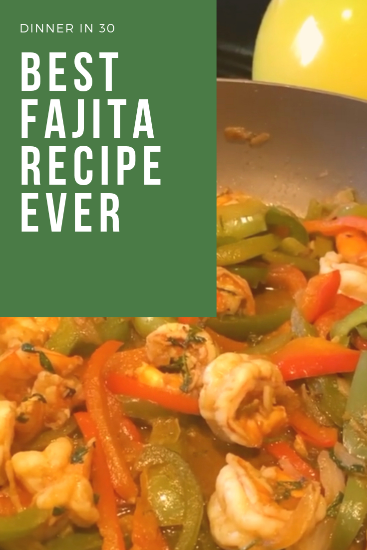 Best Shrimp Fajitas Ever #shrimpfajitas Easy and quick shrimp fajitas #easydinner #healthyrecipes #dinnertonight #shrimpfajitas