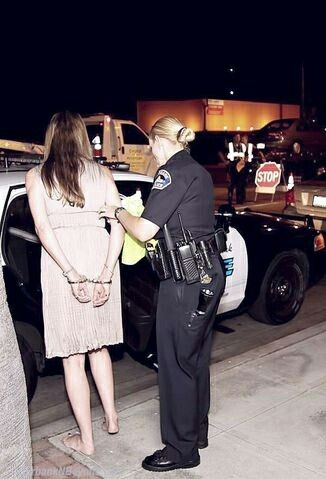 Ladies handcuffing Handcuffs now