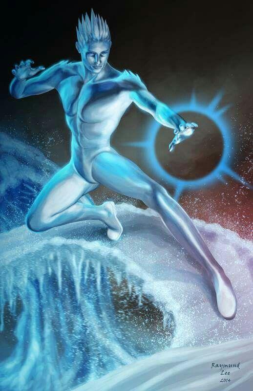 Ледяной человек картинки