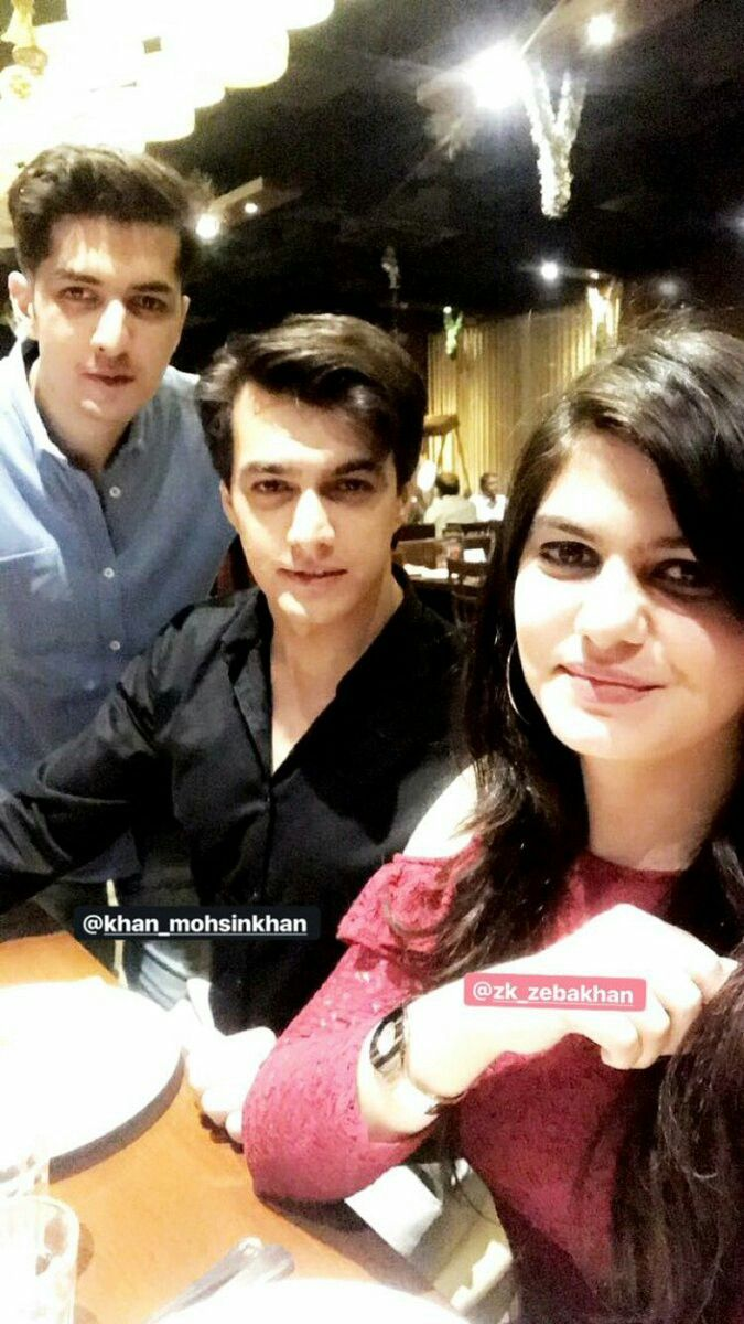 Mohsin Khan With Her Sister And Brother  Kairaholics -4623