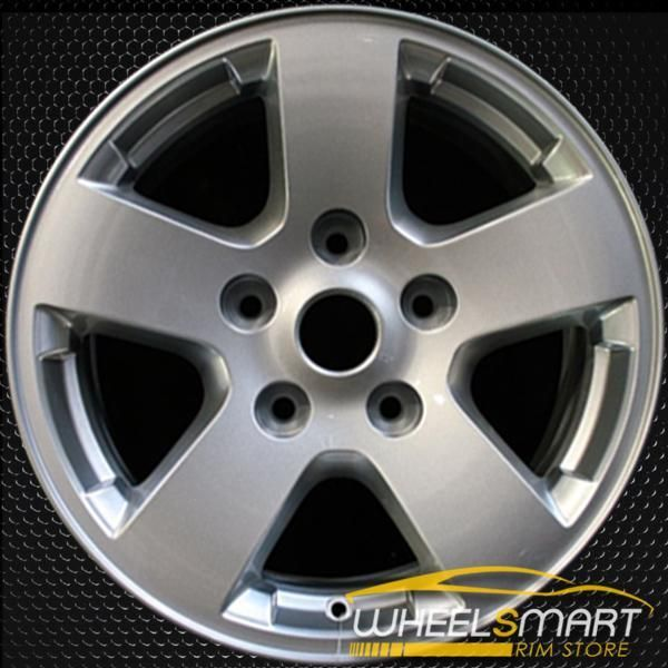 "17"" Dodge Ram 1500 OEM Wheel 2009-2011 Silver Alloy Stock"