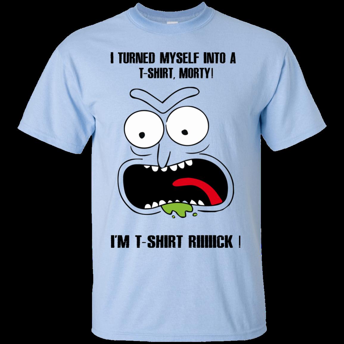 Schwifty Things TV Show Wubba Lubba Dub Gift Short Sleeve T-Shirt Tees Tshirts