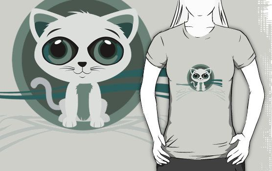 http://www.redbubble.com/people/adamzworld/works/10324624-kitten?p=t-shirt