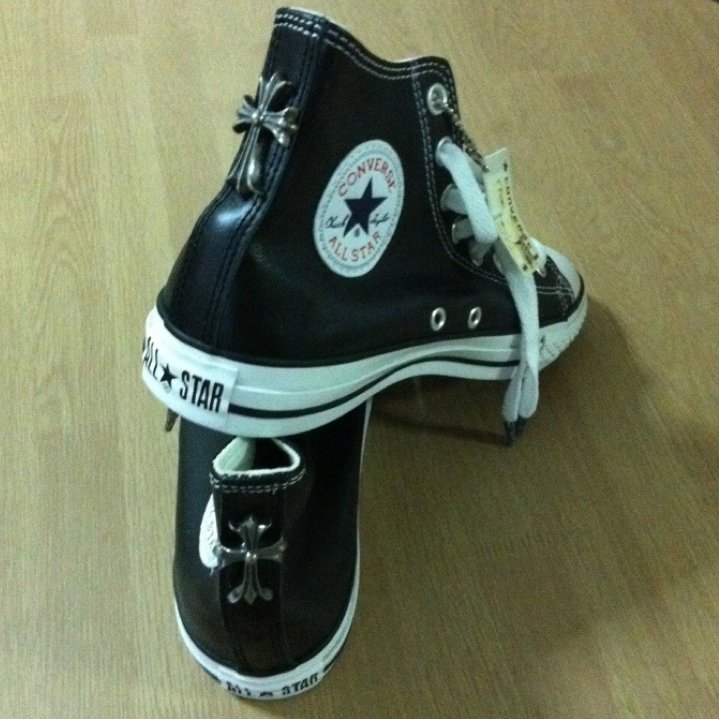 b734e5e58c5b Chrome Hearts Converse