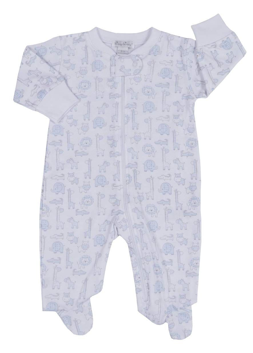 Kissy Kissy Babyboys Infant Jungle Out There Print Footie With Zipperwhite With Blue03 Months Want Add Baby Boy Outfits Baby Boy Clothes Newborn Kids Outfits