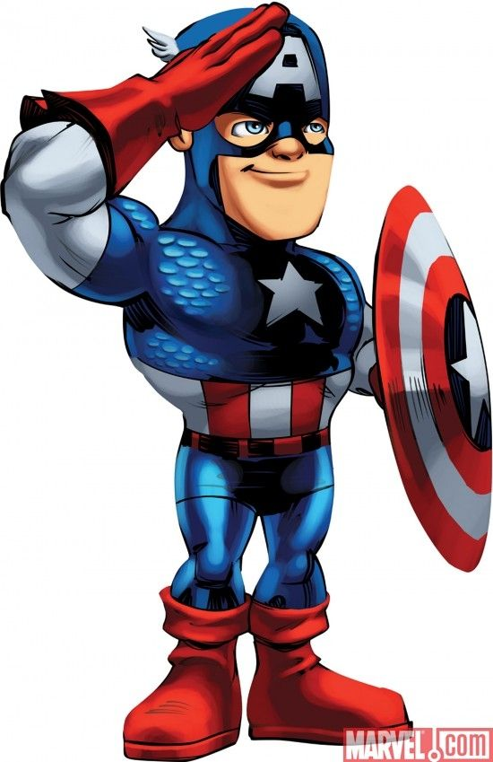 Cartoon Character Superhero Squad Images From Marvel Super Hero