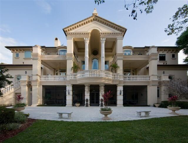 Venetian Style Homes italian baroque palace luxury home design | favorite homes