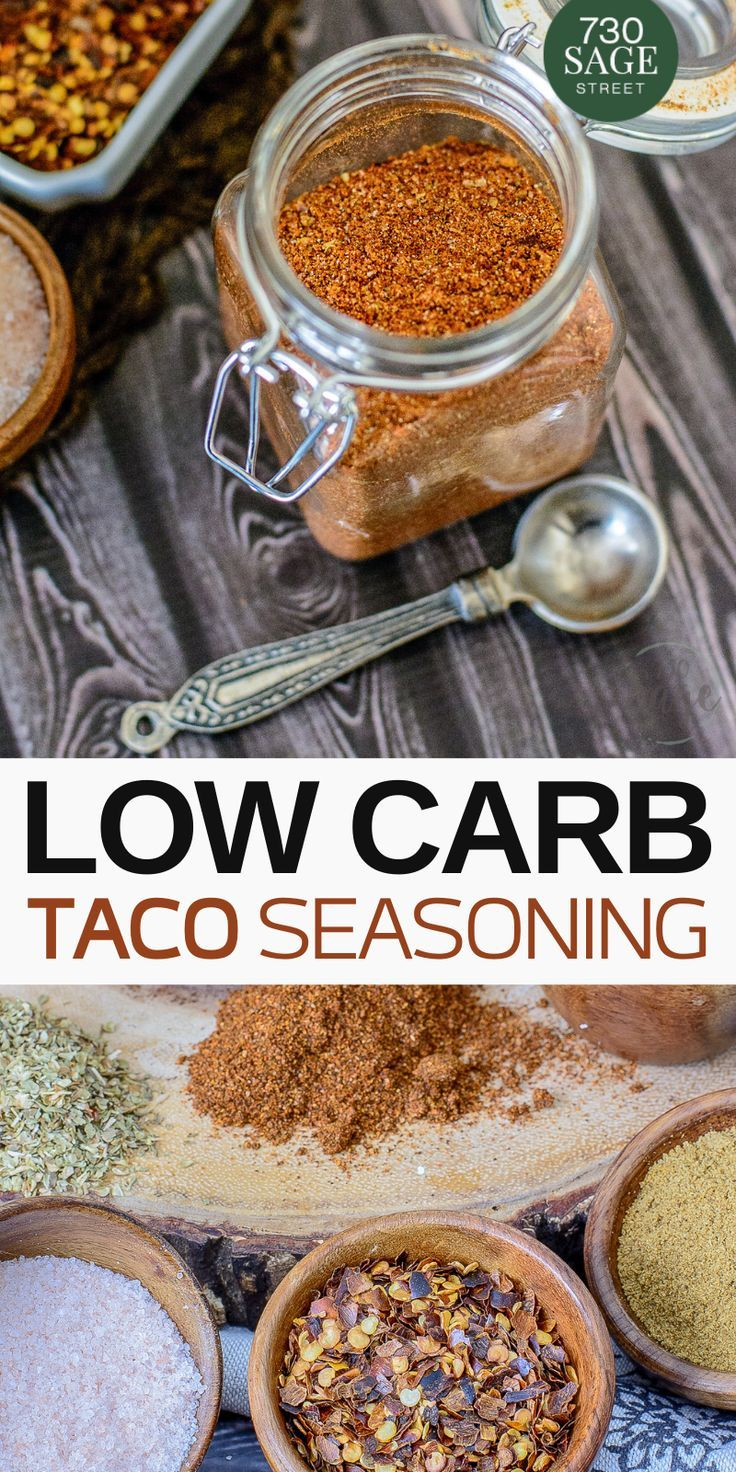 Low Carb & Keto Taco Seasoning Recipe