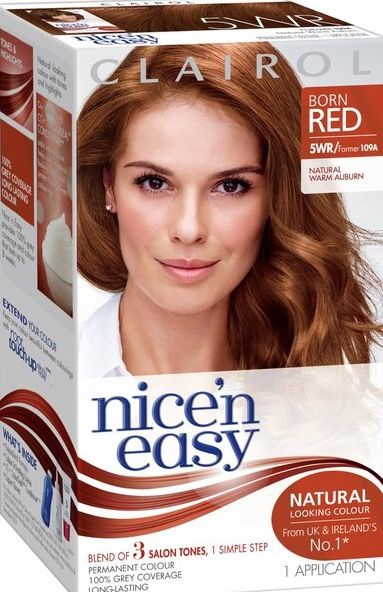 Clairol Nice N Easy Natural Warm Auburn 5wr Boxed Hair Color