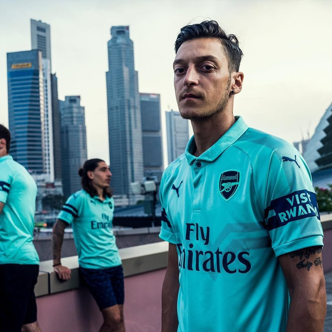 0ea1f6b294c Arsenals new third kit for the 18 19 season. or