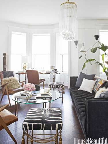 Before After A One Day Home Office Makeover With Nate Berkus Home Living Room Home Decor Living Room Inspiration