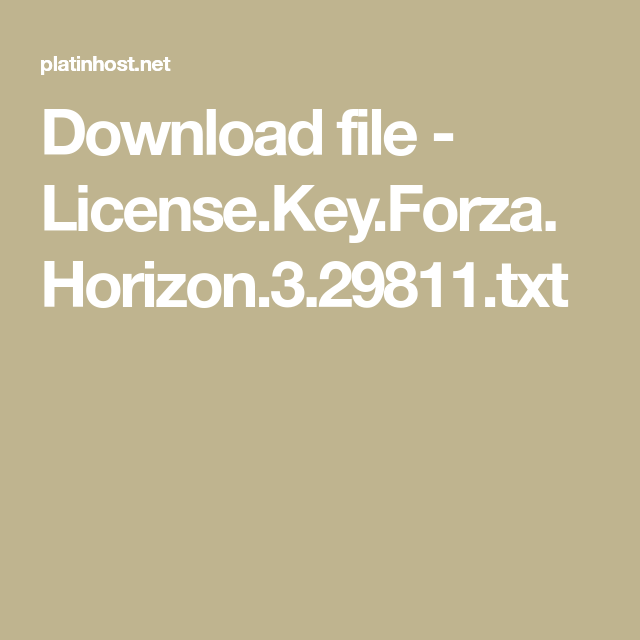 download file license key forza horizon. Black Bedroom Furniture Sets. Home Design Ideas