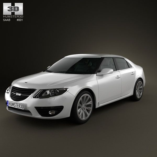 Saab 9-5 2010 3d Model From Humster3d.com. Price: $75