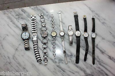 9 x FABIANI Uhren Konvolut Damen Uhren Uhr Chronograph