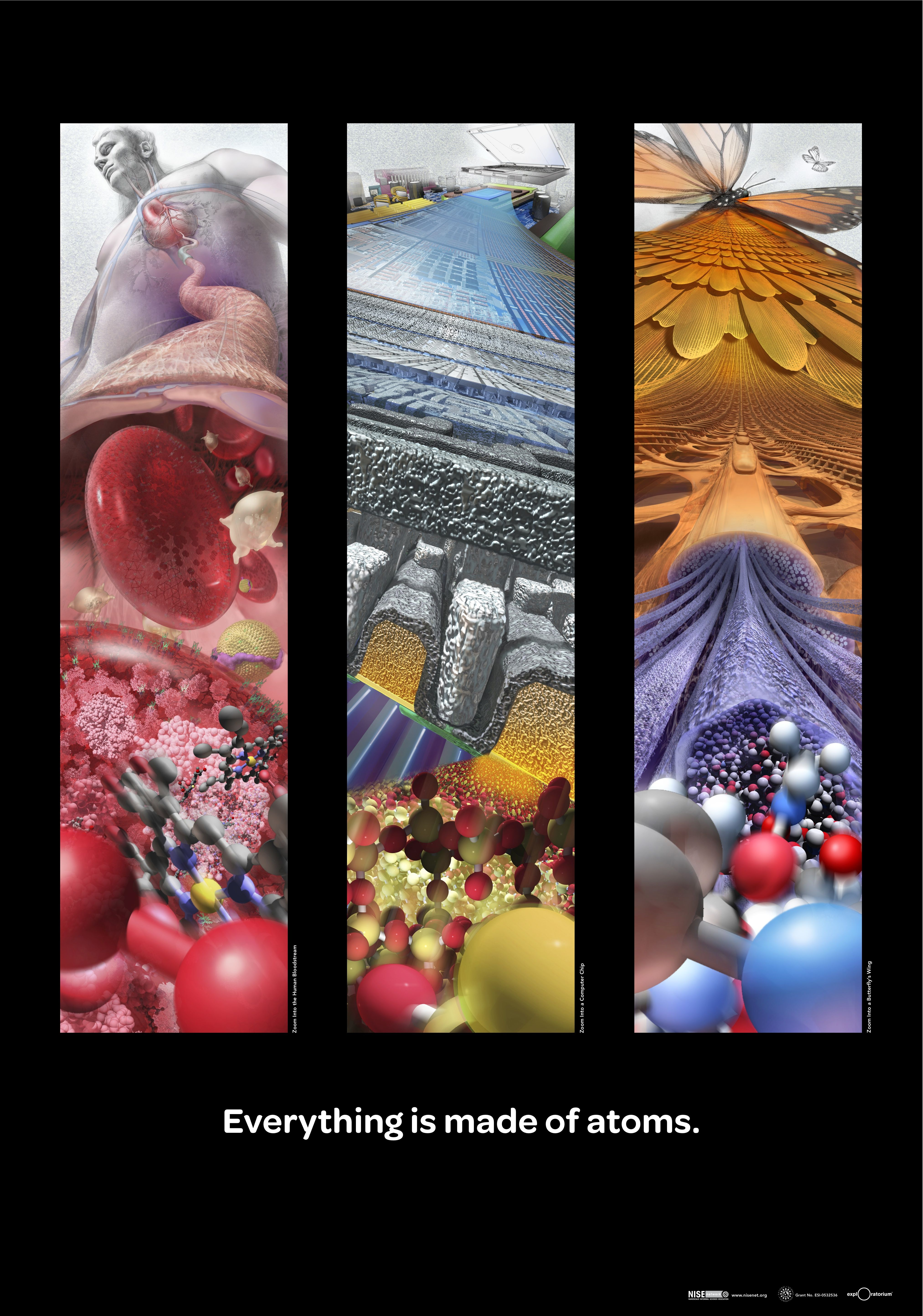 Cool Design Atoms Cant Find Artists Name Poster Art Artist