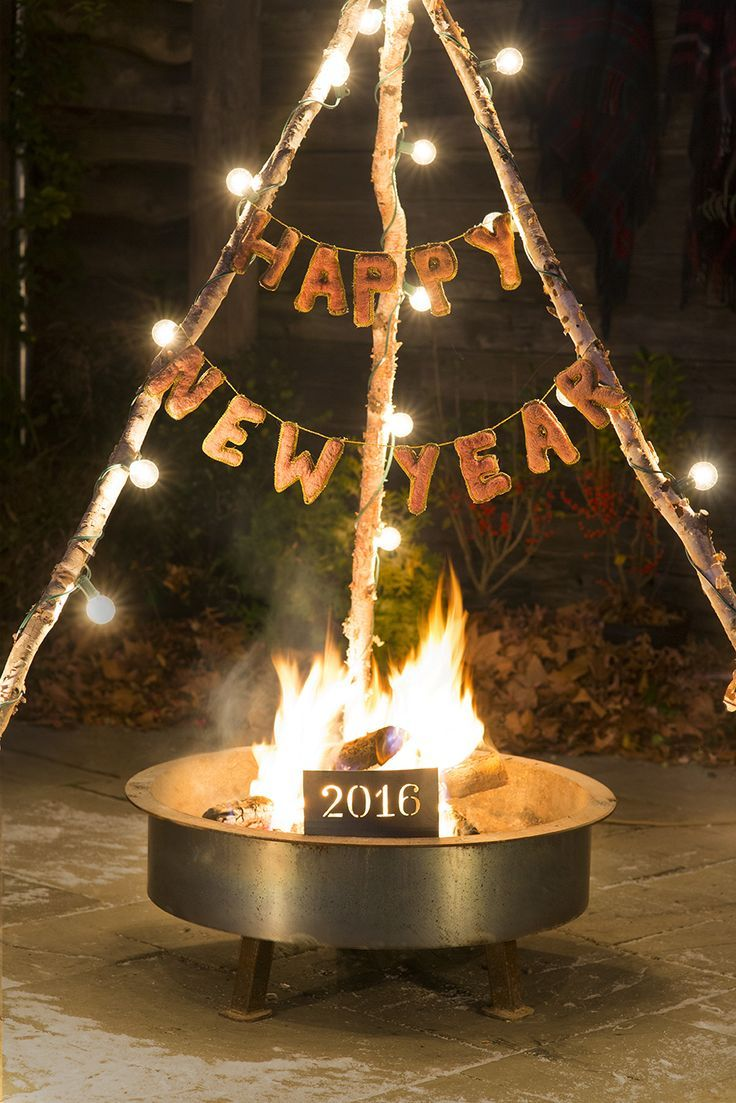 Ring in the new year with a cozy, warm, and festive New