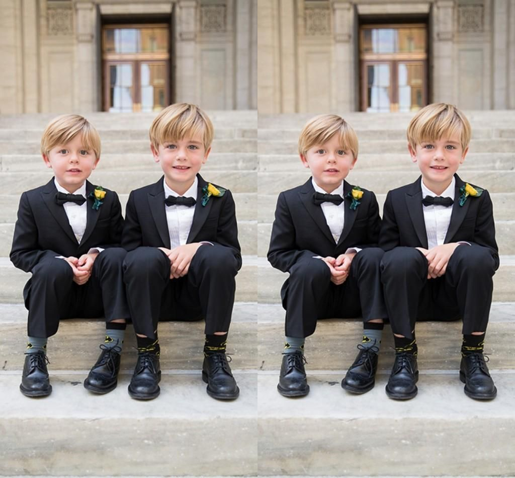Custom Made 2016 Kid Boy Tuxedos Suits Clothing Boys Wedding ...