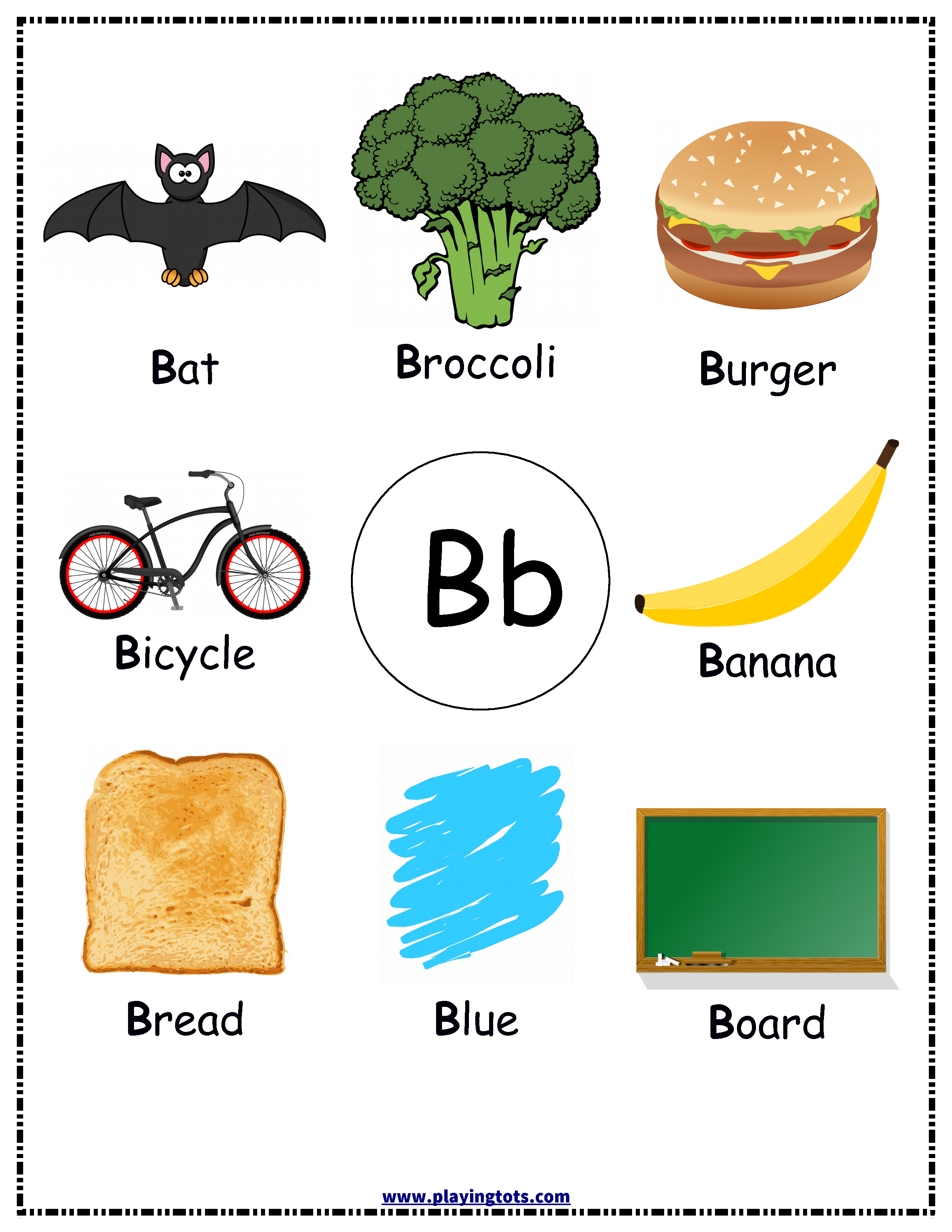 Free Printable Alphabets Chart Pictures Kids Toddler