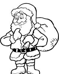 Color The Santa Claus Christmas Party Game With Images Santa