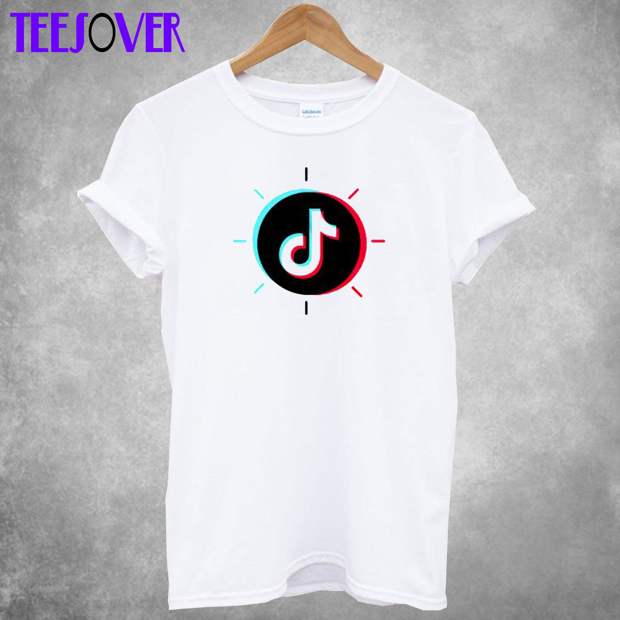 TikTok Circle TShirt in 2020 Shirts, Print clothes, T shirt