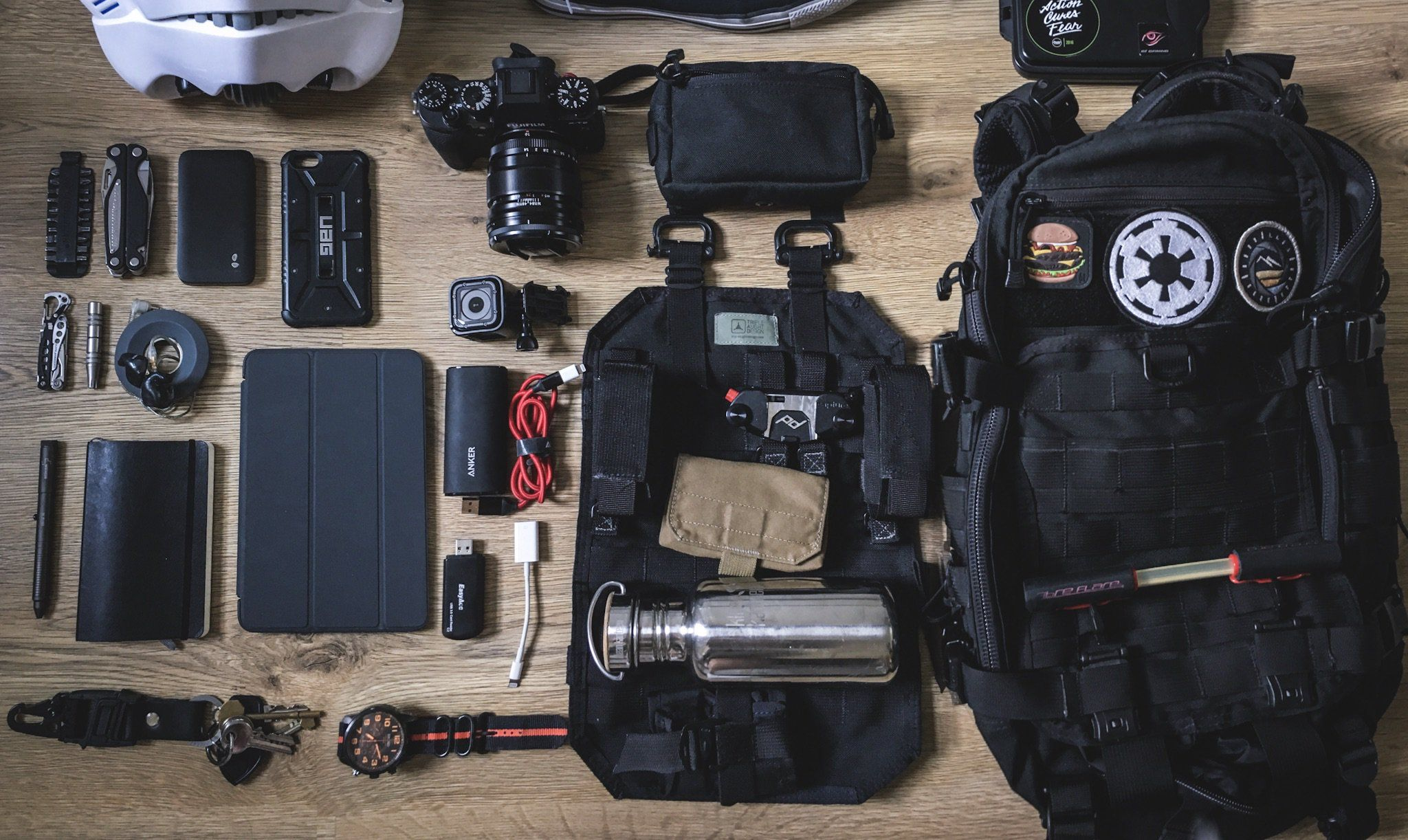 605c8d312c9 EDC v1.0 submitted by Dara Triple Aught Design Fastpack Litespeed II Klean  Kanteen Reflect