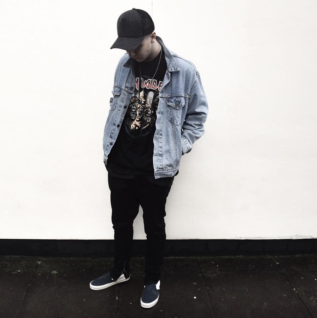 "6f5a67795c1 Ross Palmer on Instagram  ""Full fit pic  jamesperse trucker cap and vintage   Levis denim jacket"""