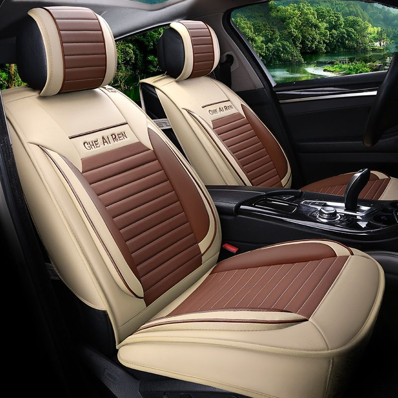Car Styling Leather Seat Covers For Ford Kuga St Fusion Mustang Cmax Taurus Escape Edge Explorer Car Seat Leather Car Seat Covers Car Seats Leather Seat Covers