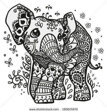Pin By Anna Geeks On Art Photo World Street Art Elephant Coloring Page Mandala Coloring Pages Mandala Coloring