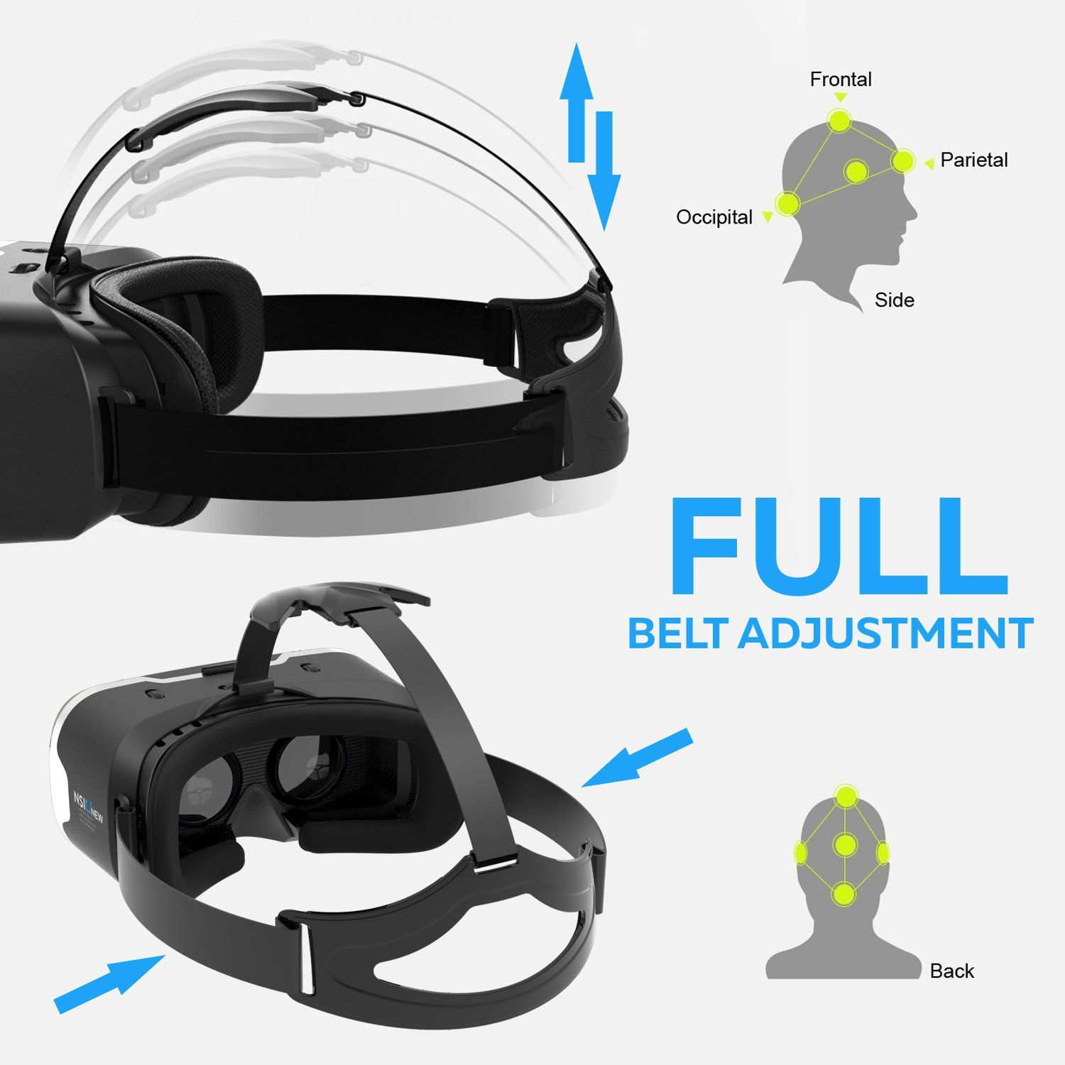 Virtual Reality Headset by NSInew – Over 30 VR Apps