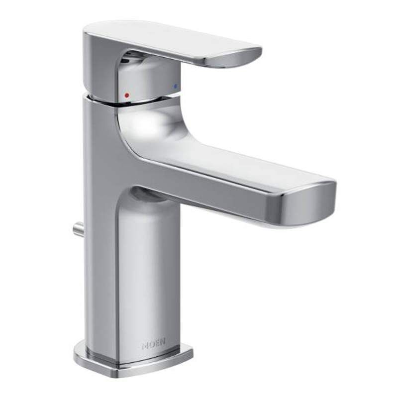 Moen 6900 Rizon Single Handle Low Arc Bathroom Faucet Chrome
