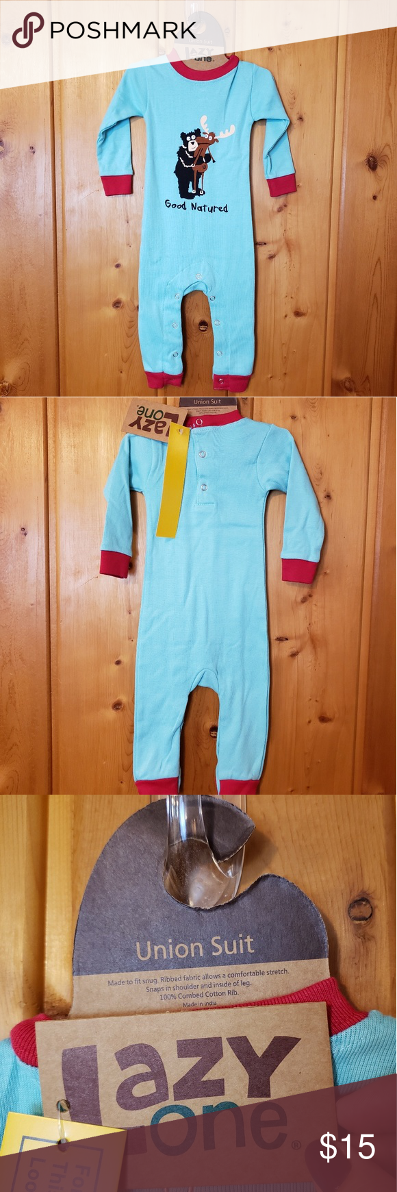 Kid's Lazy One Union Suit Kid's Lazy One Union Sui
