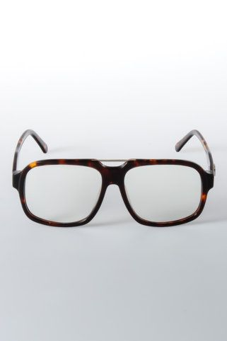 9five Fronts Clear Lens Glasses #fashion // #men // #mensfashion