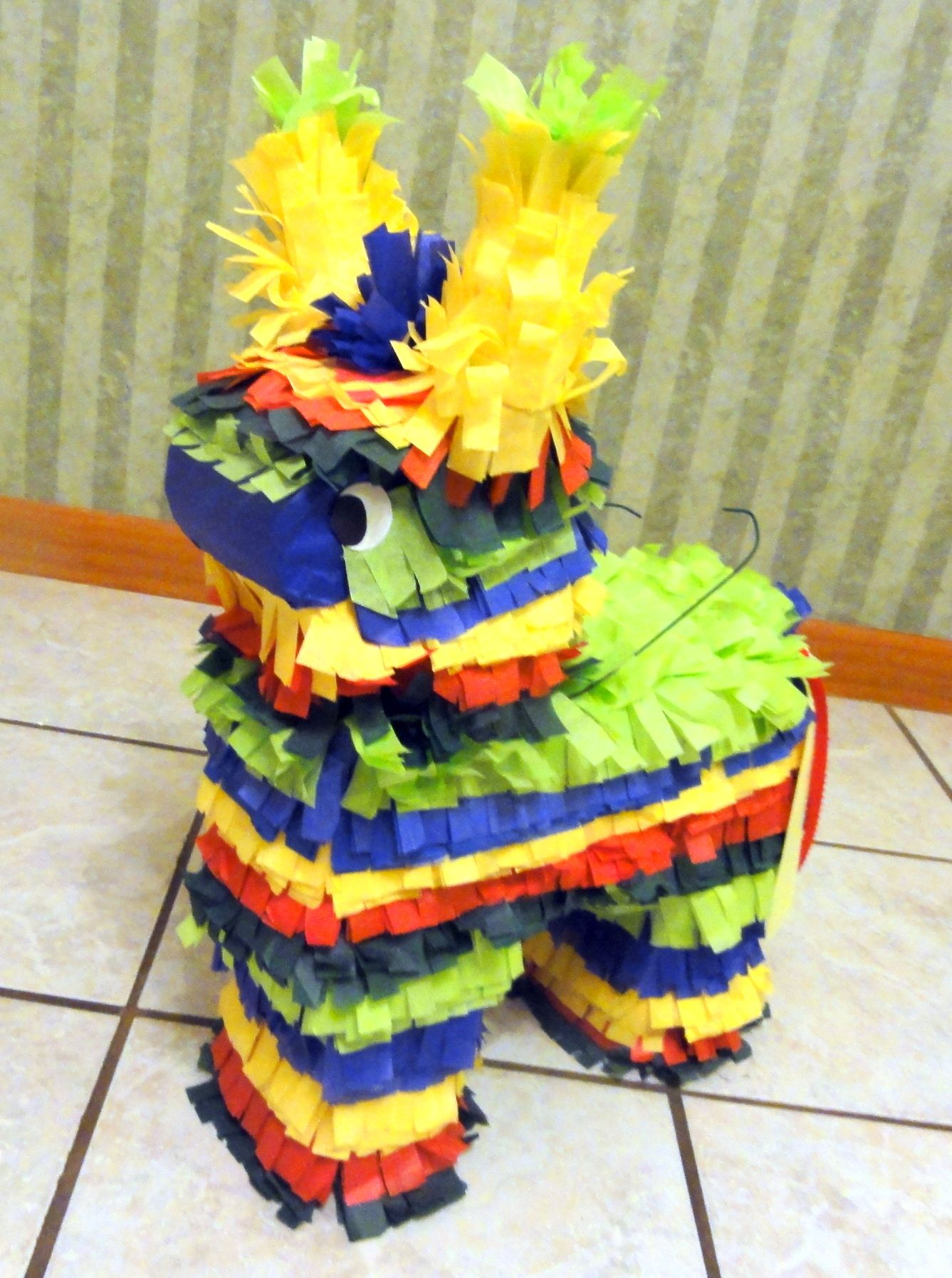 Donkey decoration only Pinata.. made out of cardboard and ...